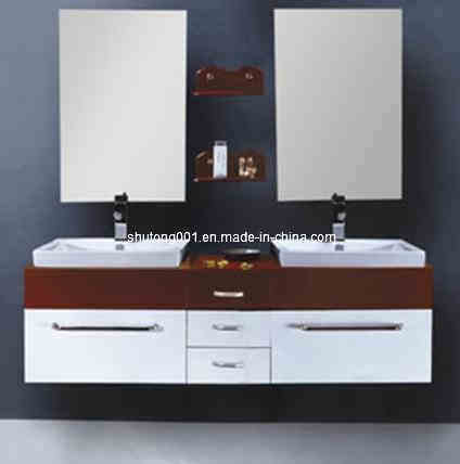 Solid Wood Bathroom Vanities on Solid Wood Bathroom Cabinet  St S123    China Bathroom Cabinet