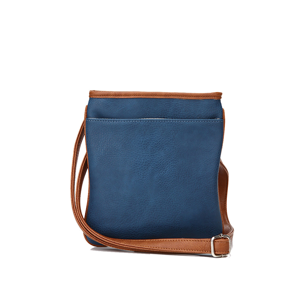 Simplest Design Blue Messenger Shoulder Bags Ladies (MBNO039036)