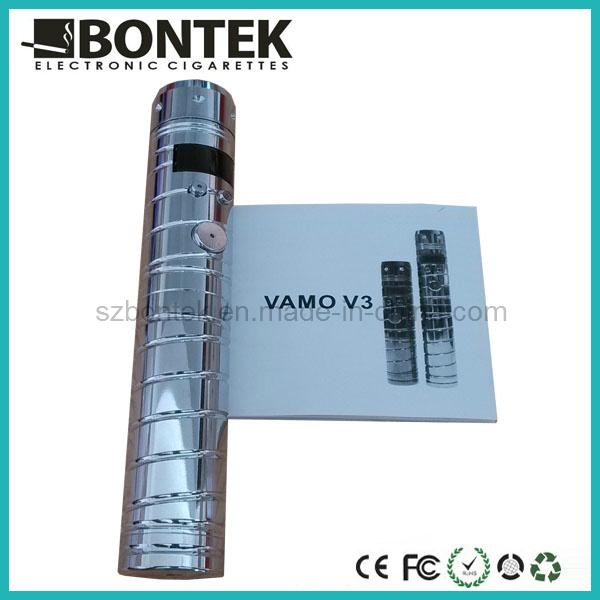 Vamo V3 Electronic Cigarette, Chrome Variable Voltage E-Cig, Best Selling E Cigarette