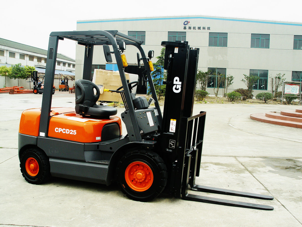 China 2500kg Diesel Forklift Truck Photos  U0026 Pictures