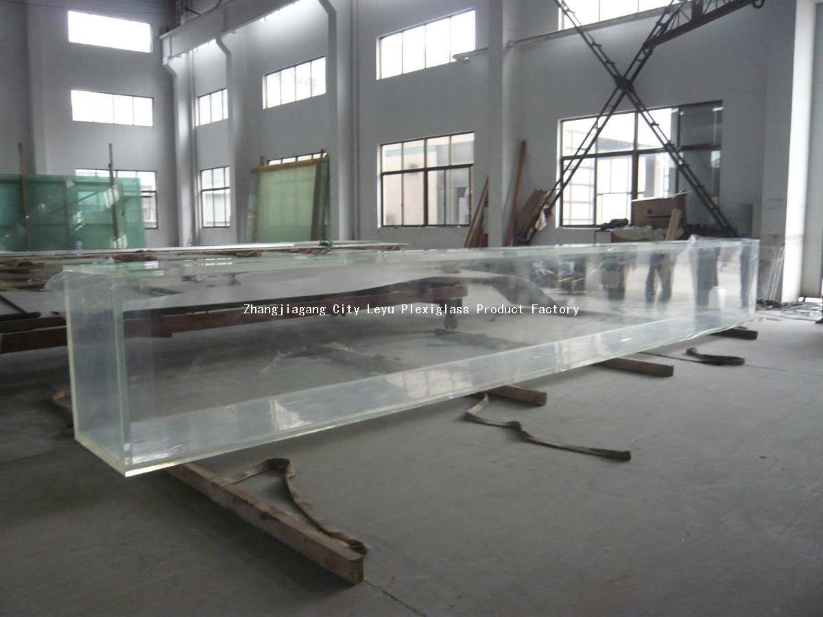China square fish tank china square fish tank acrylic for Square fish tank