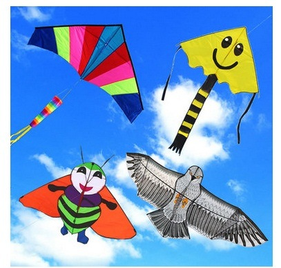 Promotional Colorful Popular Nylon Flying Kite