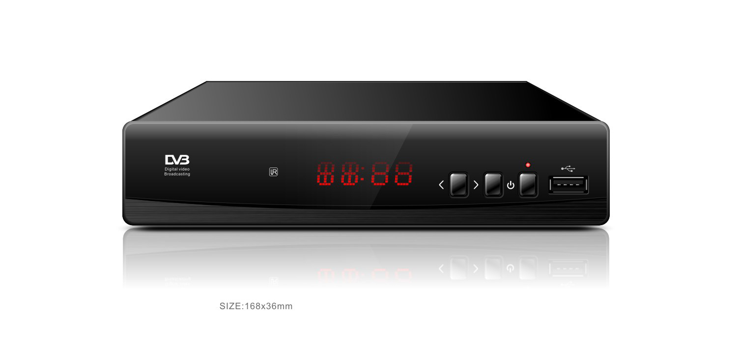 H. 265 DVB-T2 Receiver with Scart and RF