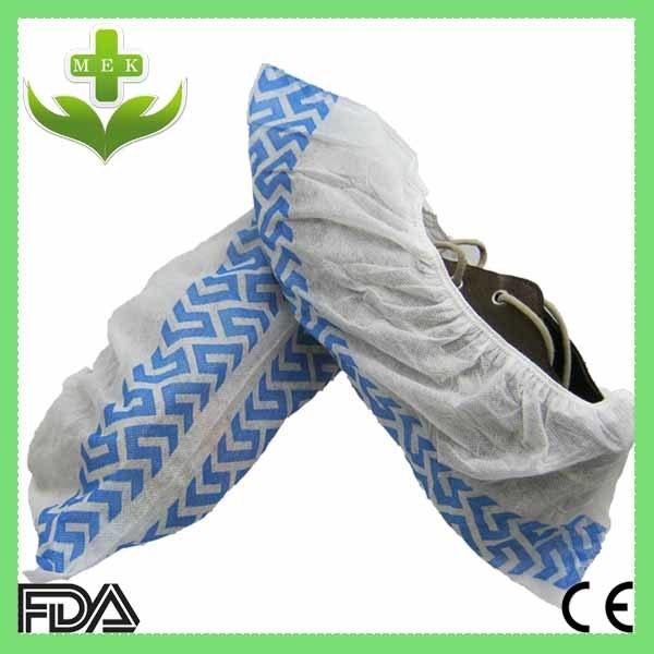 Disposable PP Non Woven Anti-Slip Shoecover Customized