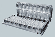 8 Cavities 500ml Water Bottle Blowing Mould for Linear Machine