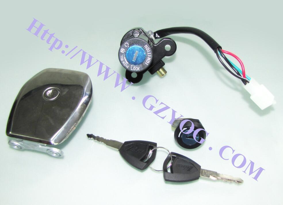 Kit De Cerradura PARA Varios Modelos. Motorcycle Parts Lock Set for Various Models