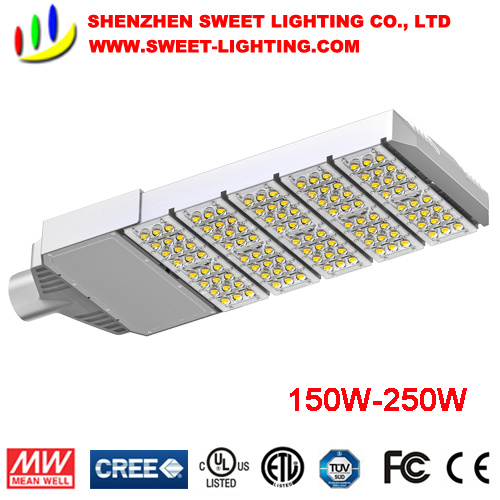 30W-300W IP65 LED Street Light with Salt Resistance