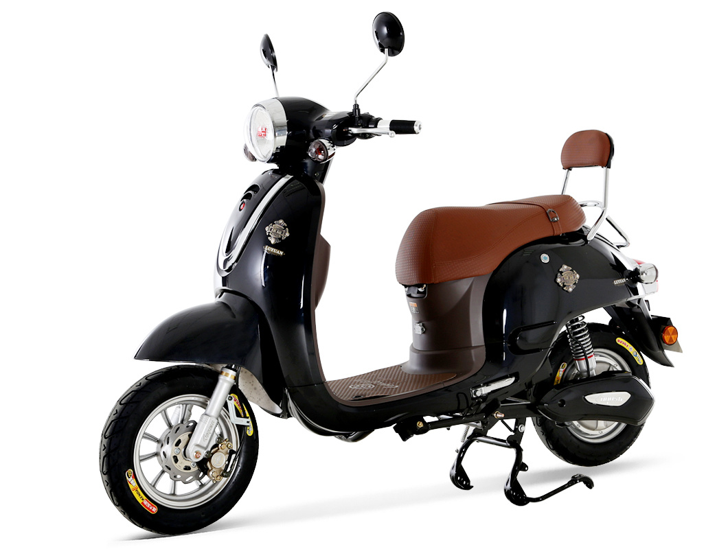 Retro Electric Scooter with EEC