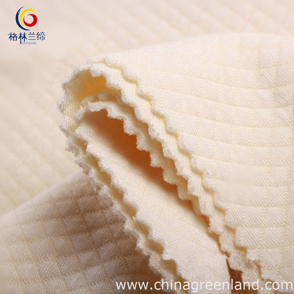 Cotton Modal Jacquard Scuba Knitted Fabric