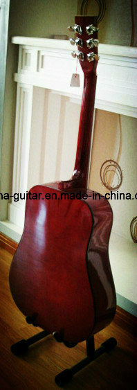 41′′ Acoustic Guitar with Carved Top