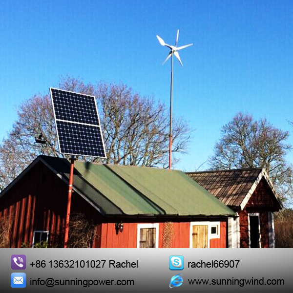 400W off Grid Small Wind Turbine Generator Power Supply System