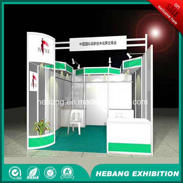 Hb-L0002 3X3 Aluminum Exhibition Booth