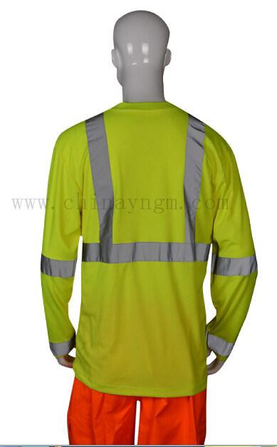 En471 High Visibility Safety Reflective T Shirt