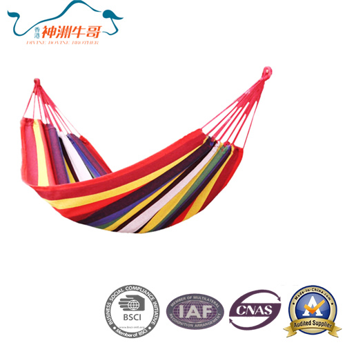 Heated Cotton Canvas Hammock for Outdoor Camping