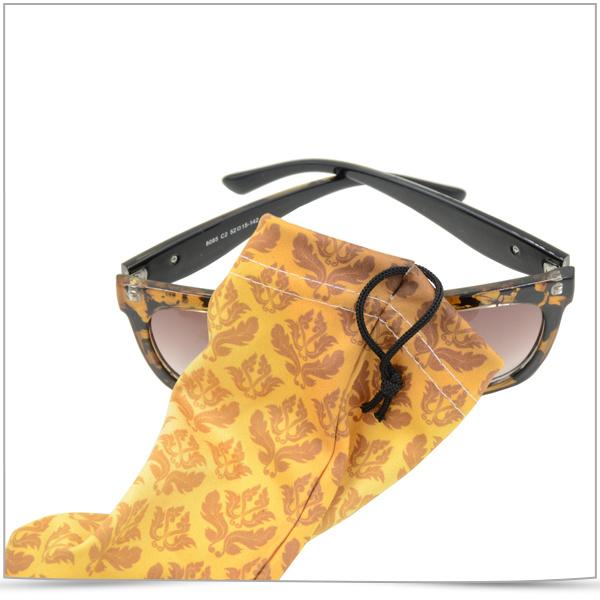 Digital Transfer Printing Microfiber Sunglasses Pouch