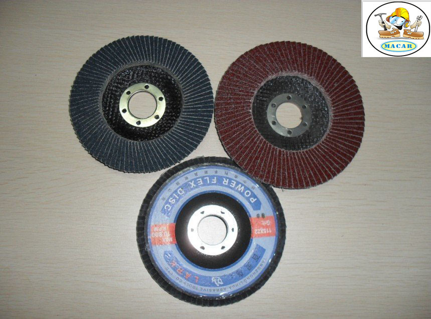 Calcined Fused Alumina Flap Disc for Grinding and Polishing Metal/Wood