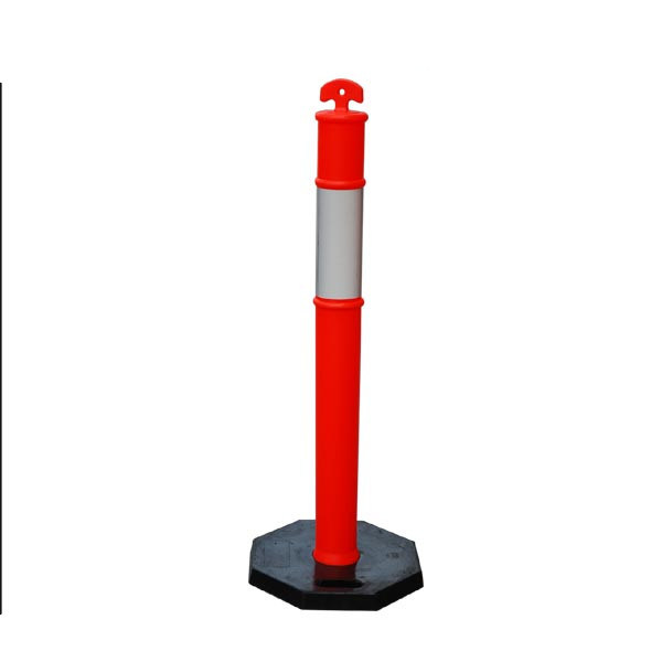 Fluorescent Flexible PVC Road Traffic Safety Cones