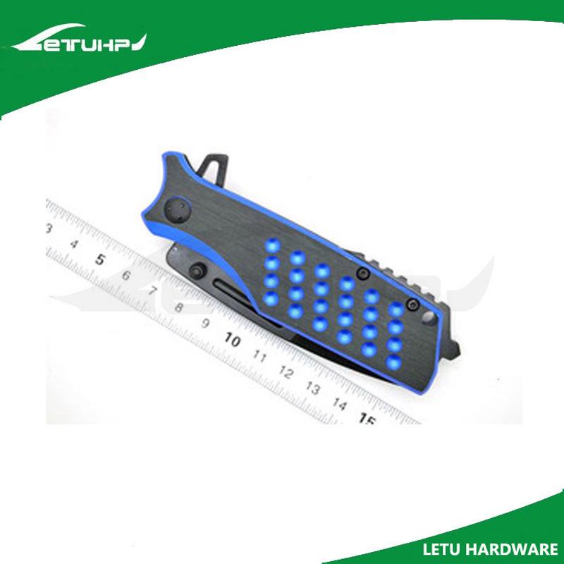 Outdoor Black Oxide Folding Knife with Liner Lock