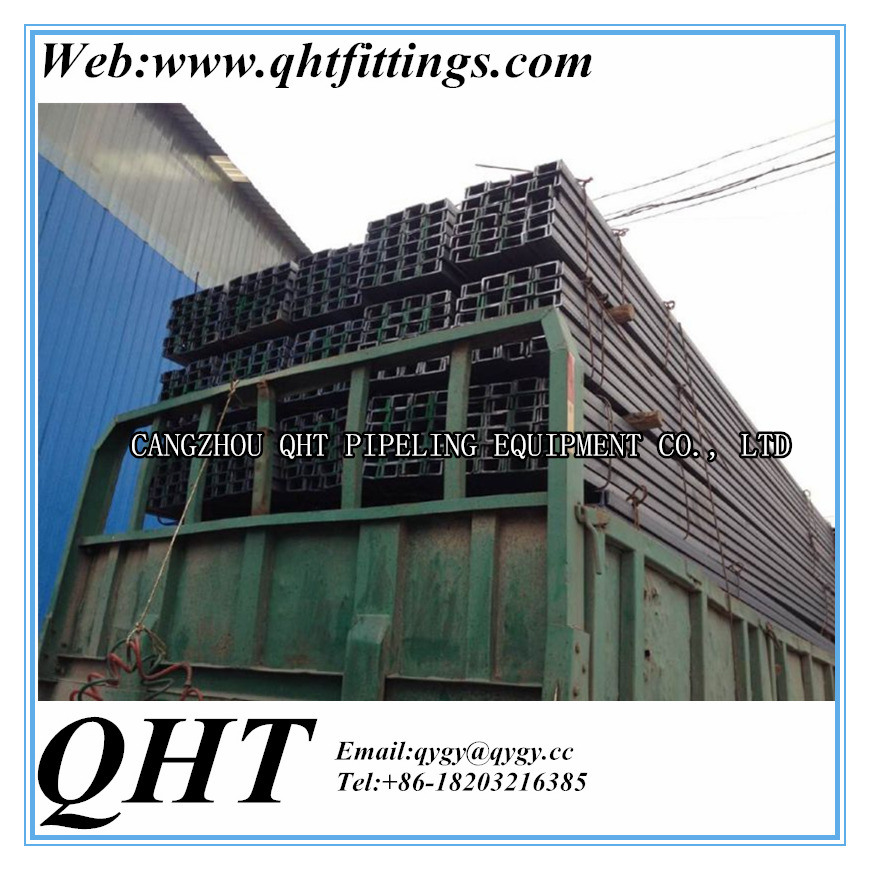 GB 9787-88 Q235B Hot Rolled Steel Channel with High Quality