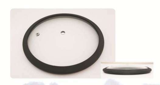 Tempered Glass Lid with Silicone Ring