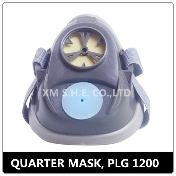Single Cartridge Reusable Dust Quarter Mask (PLG 1200)