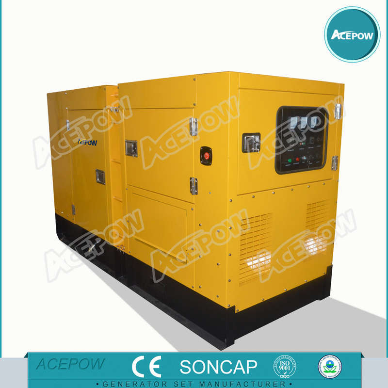 AC Three Phase 100kVA Low Noise Cummins Generator with ATS