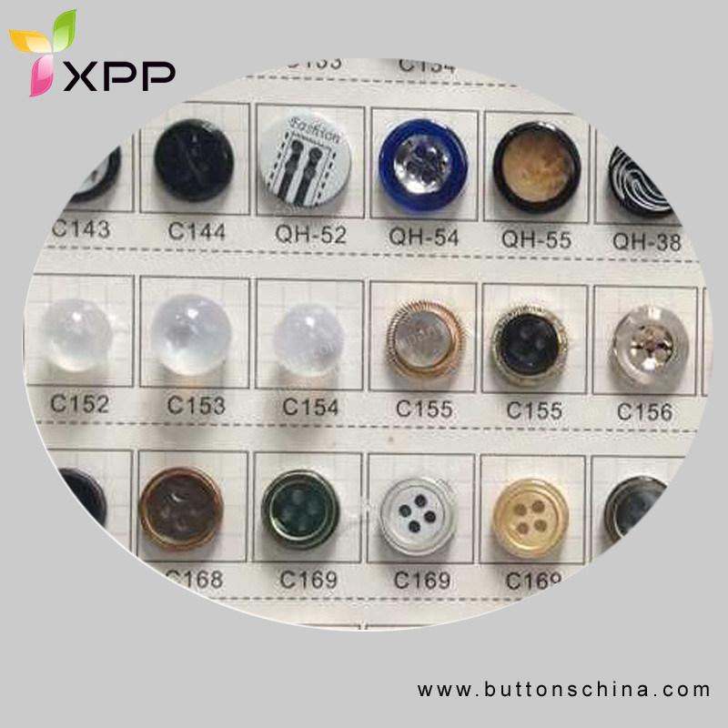Fashion Polyester High-Grade Shirt Button Plastic Button
