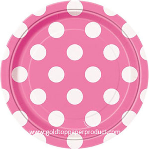Disposable Paper Dinner Plates Party Supplies