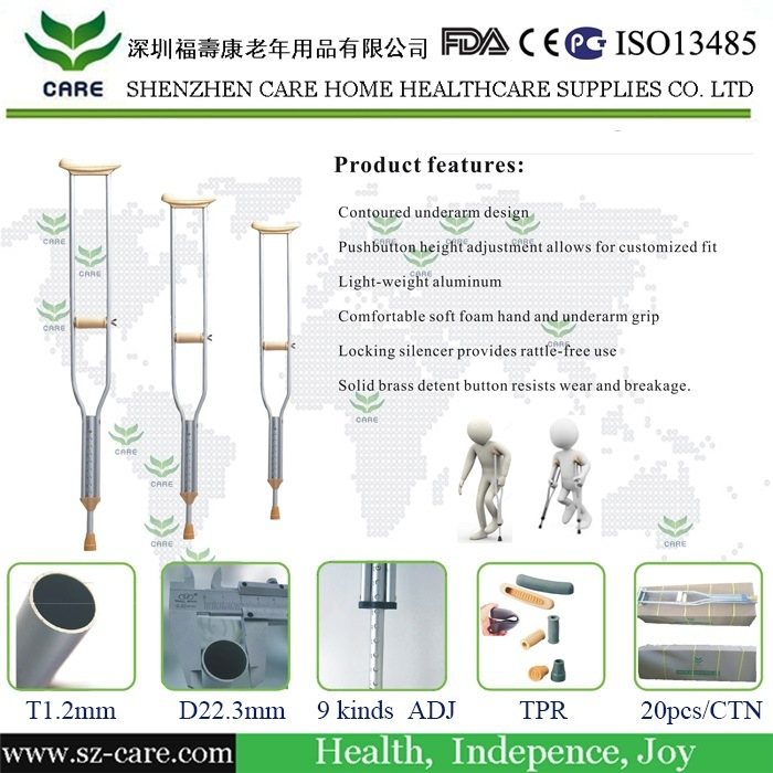 Rehabilitation Therapy Supplies Orthopedic Crutches