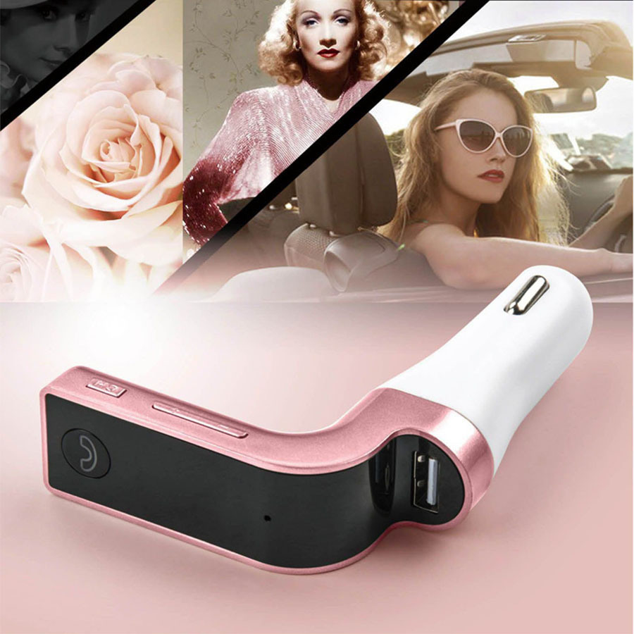 Bluetooth Car Charger MP3 Player for Vehicle FM Support TF Card
