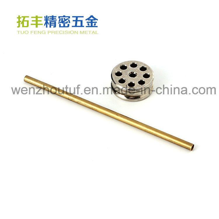 Brass Precision Motorcycle Connector Auto Machinery Spare