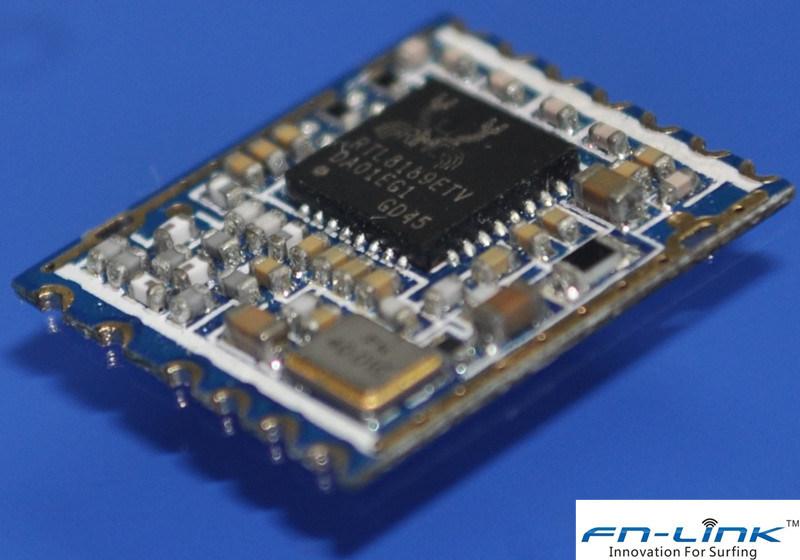 802.11b/G/N WiFi Module 1T1R RTL8189 SDIO (F89ESSM13-W4)