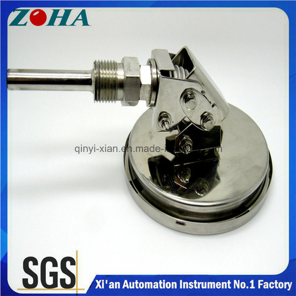100mm Diameter Universal Type Bi-Metal Thermometer