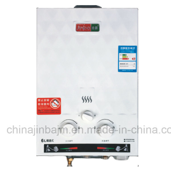 6L Low Pressure Flue Type Instant Gas Water Heater (JSD-V7)