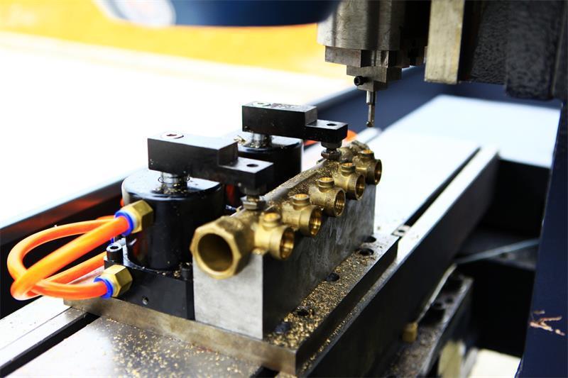 Water Segregator Making Thread CNC Machine