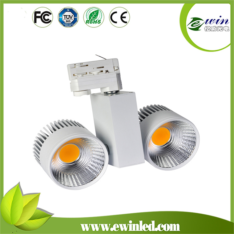20W/30W/40W/50W White Black Silver LED Track Light with Ce RoHS Approved