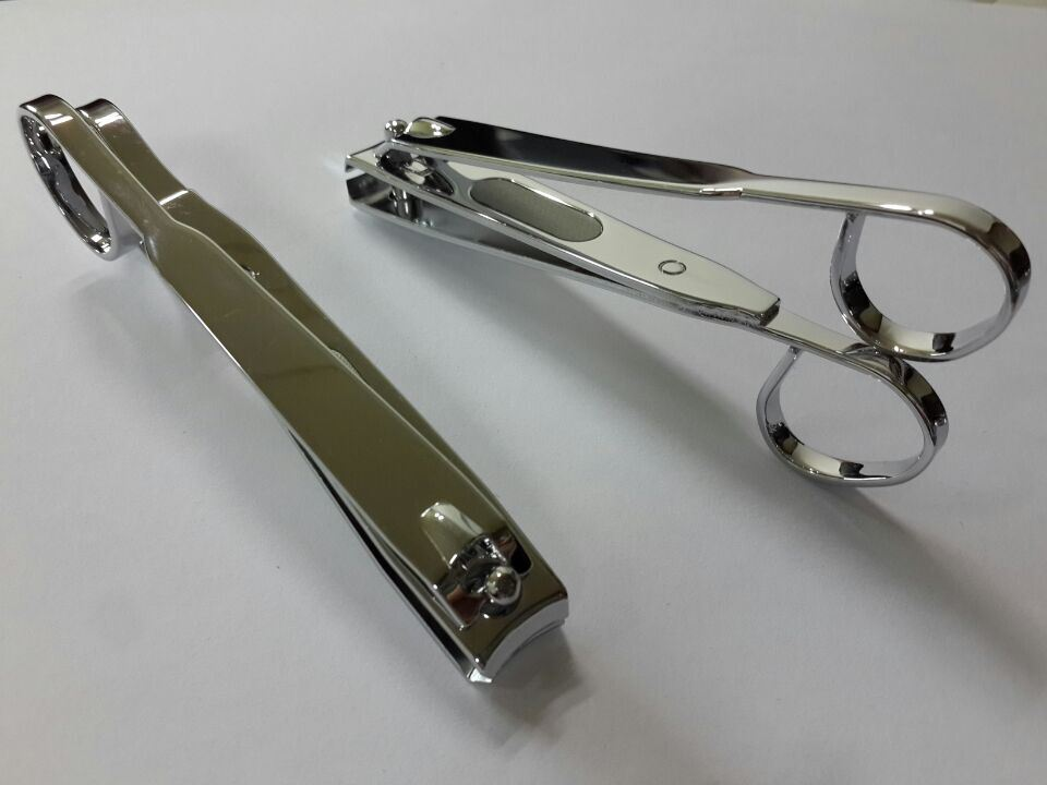 Heavy Duty 10.8cm Toenail Clipper with Scissor Handle and Laser File
