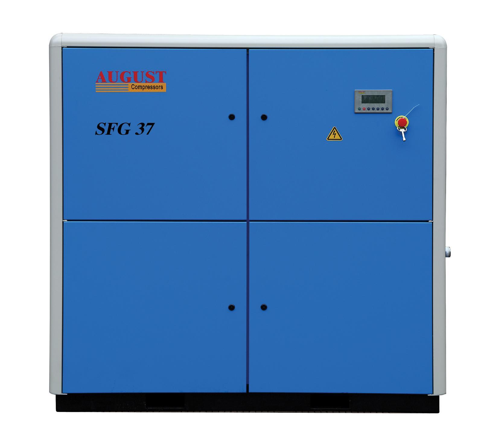 37kw/50HP August Stationary Air Cooled Screw Compressor