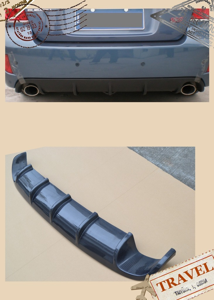 Carbon Fiber Car Bodykits (bumper diffuser splitter side skirts...)