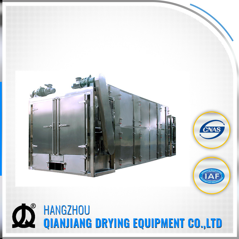 Full Automatic Stainless Steel Conveyor Belt Dryer