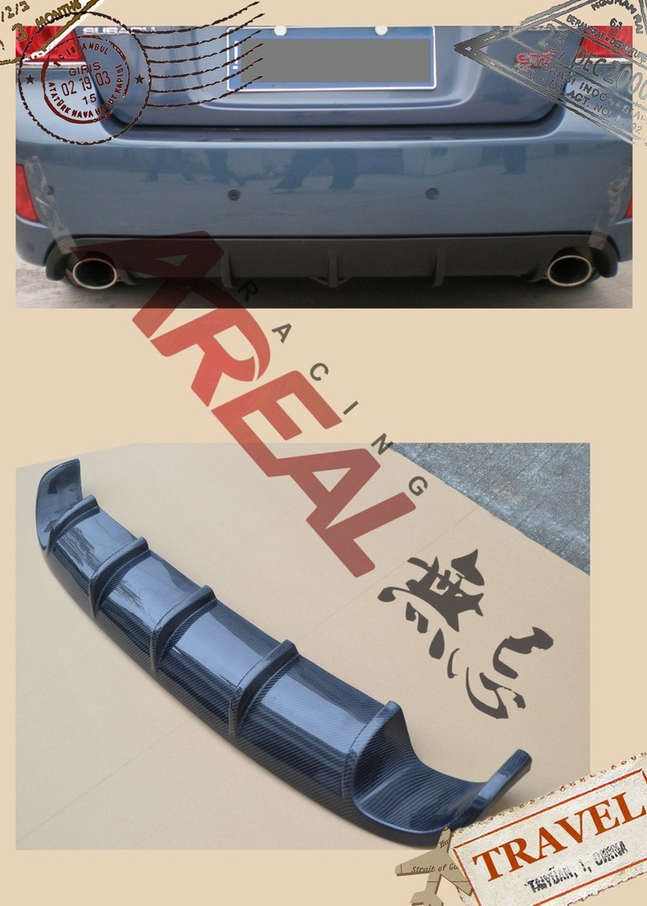 Carbon Fiber Racing Parts for Subaru Impreza Wrx Legacy Forseter Brz Xv
