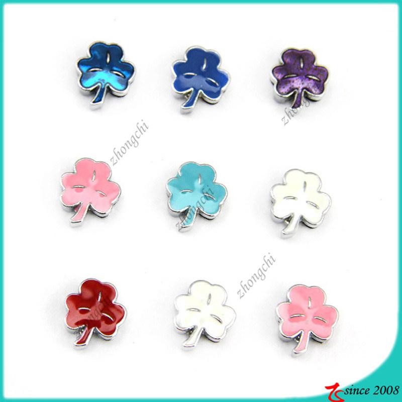 Fashion Clover Leaf Slide Charms Wholesale (SC16040949)