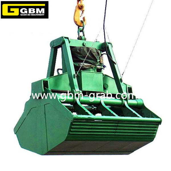 Gbm Electric Hydraulic Clamshell Grab Bucket Motor Hydraulic Grab
