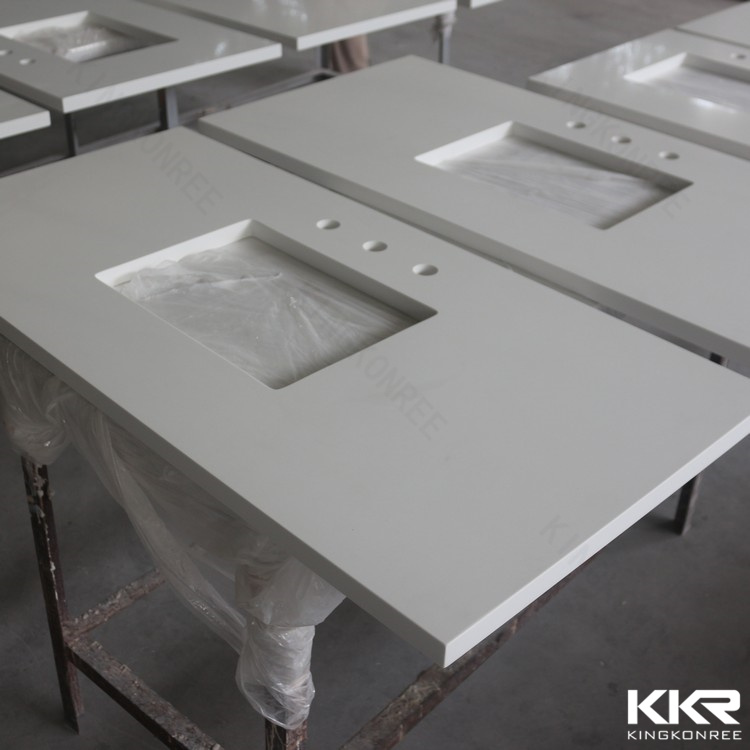 2017 Custom Prefabricated 52′′ Stone Resin Countertop