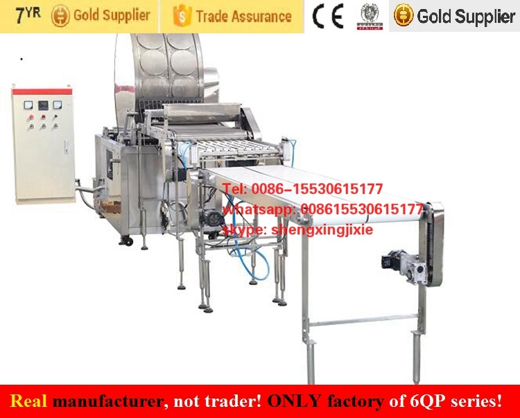 Auto High Quality/Capacity Gas/ Ele Pancake Machine/ Thin Pancake Machinery/ Flat Pancake Machine