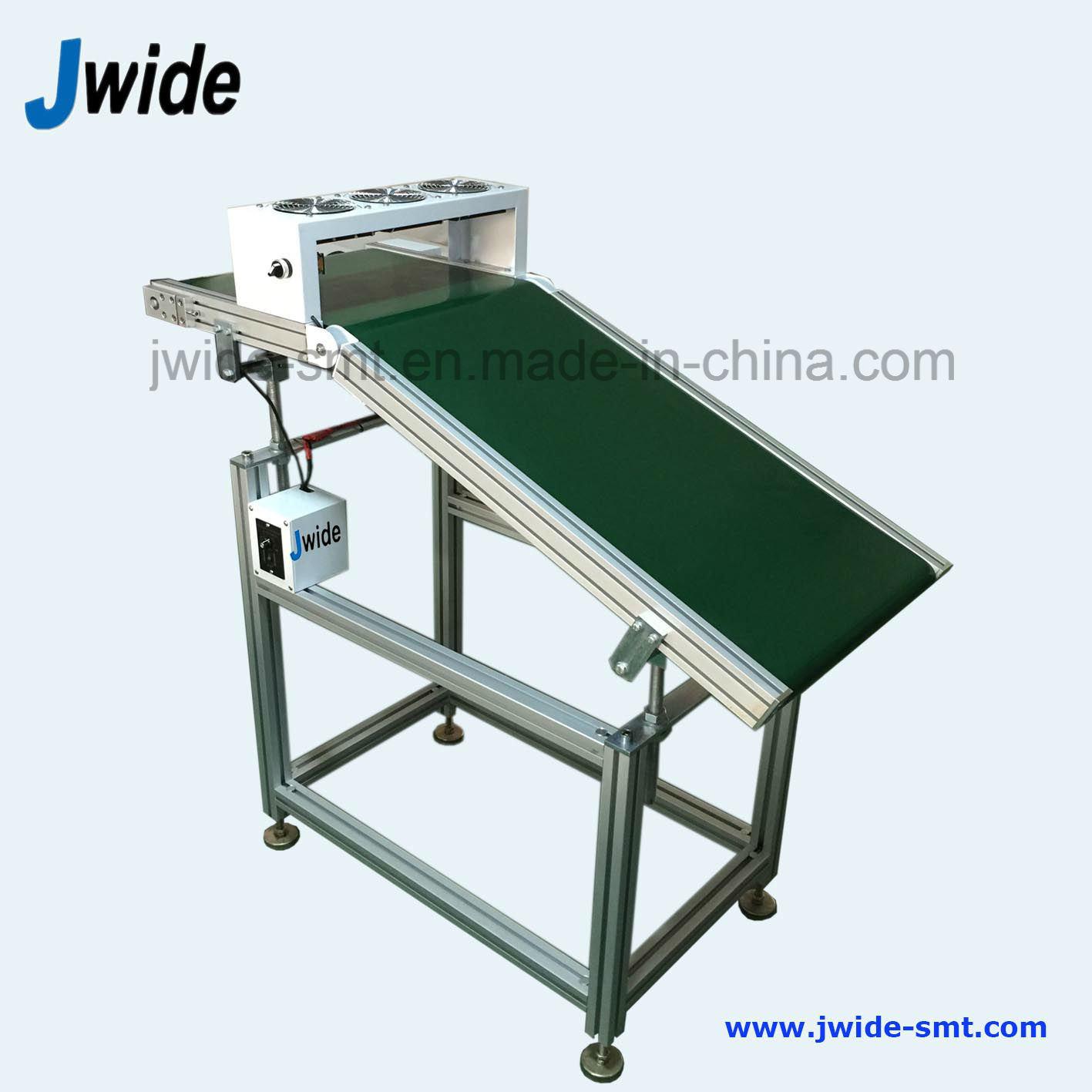 Anti Slip Blet Wave Solder Offload Conveyor for Insertion Line