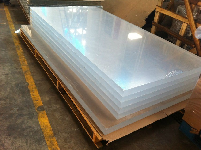 25mm Thickness Transparent Acrylic Sheet with 90%