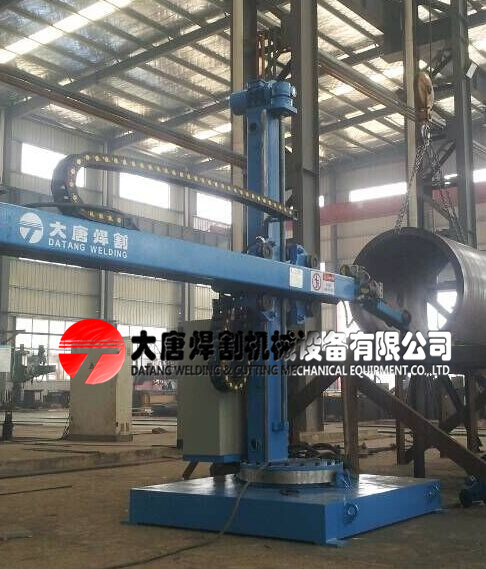 Dlh4545 Automatic Column and Boom Welding Manipulator