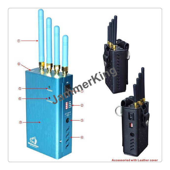 cell phone jammer battery