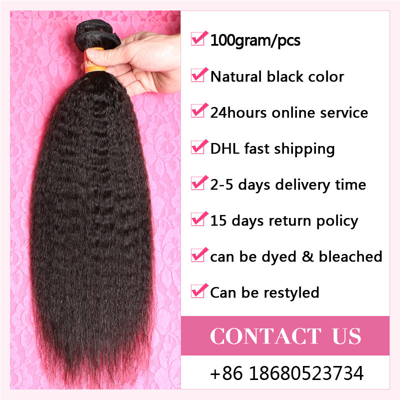 Hair Care Premium Hair Products Remy Human Hair Weaving / Virgin Peruvian Hair